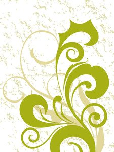 Stylish Curve Design Print