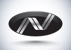 Stylish Emblem Design - Initial-n