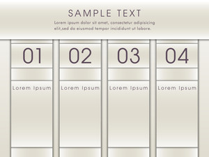 Stylish infographic chart layout with text and numerals for your business presentation on grey background.