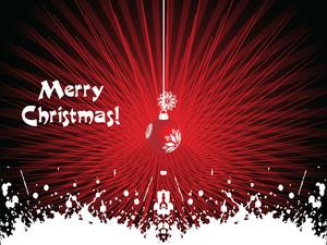 Stylish Merry Christmas Background
