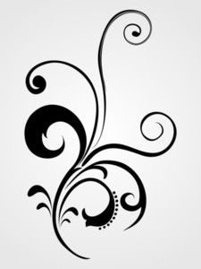 Stylish Pattern Black Tattoo