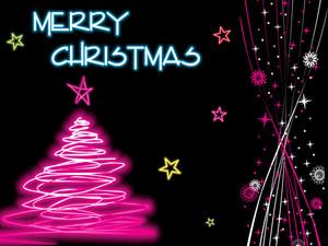 Stylish Pattern Christmas Background