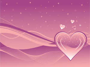 Stylish Pattern Romantic Background
