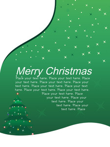 Stylish Pattern Xmas Celebration Card