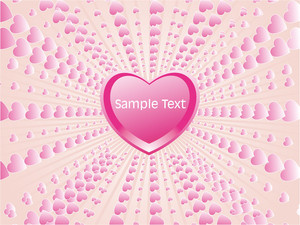 Stylish Pink Macro Frame Background
