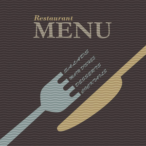 Stylish Restaurant Menu Design