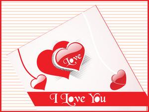 Stylish Vector Love Background