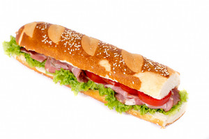 Submarine Sandwich Isolated