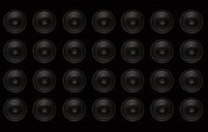 Subwoofers Wall