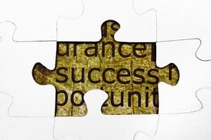 Success Puzzle Concept