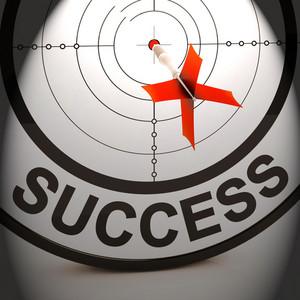 Success Shows Best Financial Achievement Solution