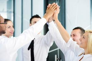 Successful business people
