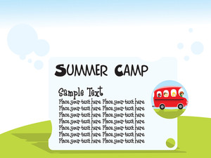 Summer Camp Background