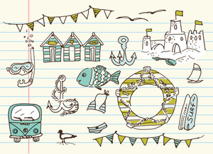 Summer Doodles