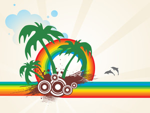 Summer Holiday Vector Design4