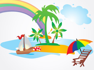 Summer Holiday Vector Design8