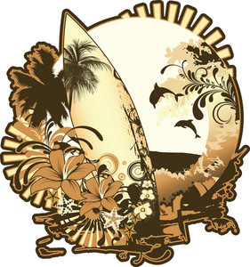 Summer Illustration