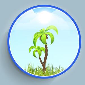 Summer Season Sticker