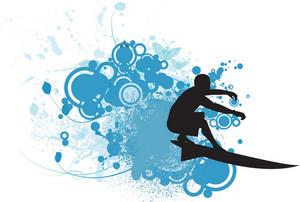Summer Sports Illustration