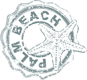 Summer Stamp Vector Element