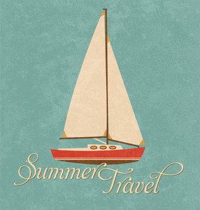 Summer Travel Design - Sail Boat