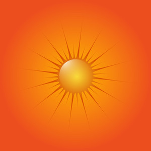 Sun Design Background