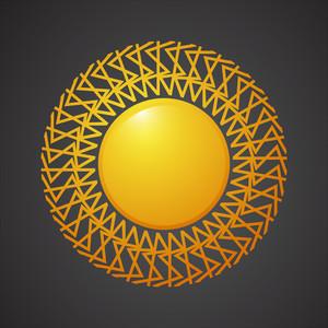 Sun Design Vector