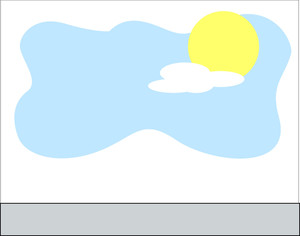 Sun Sky Background