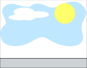 Sun Sky Clouds Background