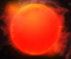 Sun Star Outer Space Backdrop
