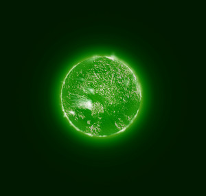 Sun Surface Storm Green