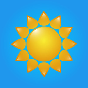 Sun Vector Design