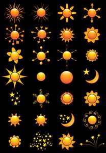 Sun Vectors