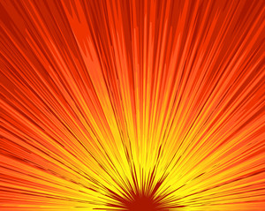 Sunburst Bright Background