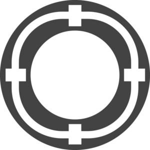 Sunpport Glyph Icon