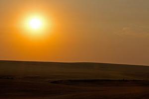 Sunset At Harvest Hills