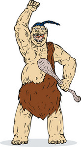 Super Hero Caveman