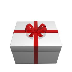 Surprise Gift Box 3d Render