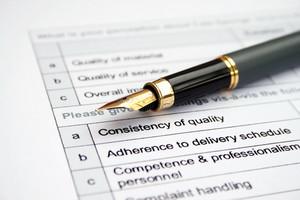 Survey Form - Quality