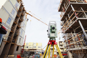 surveying instrument and construction industry