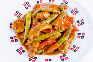 Sweet And Sour Chicken Top Angle