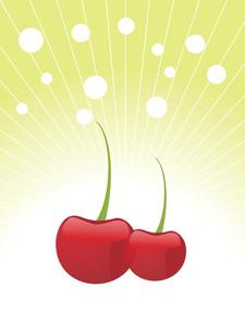 Sweet Cherry Illustration