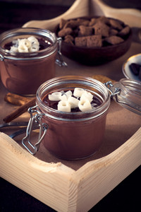Sweet Chocolate Panna Cotta