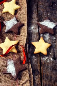 Sweet Cookies Star Shape