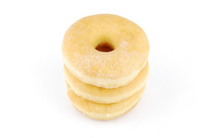 Sweet Donuts (white Background)