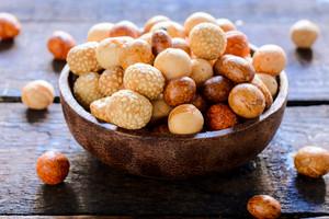 甘いピーナッツ