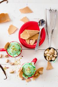 Sweet Pistachio Ice Cream
