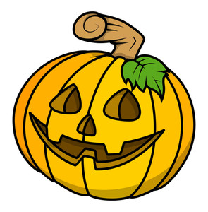Sweet Pumpkin Vector For Halloween