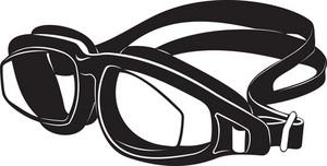 Swimming Goggles Silhouette