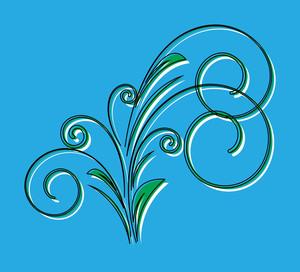 Swirl Design Element